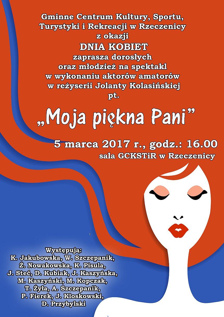 Plakat informacyjny - Dzień Kobiet