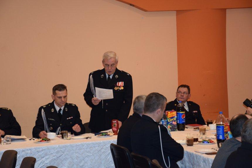 Zebranie sprawozdawcze OSP Rzeczenica
