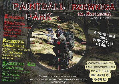 Rzewnica Paintball Park